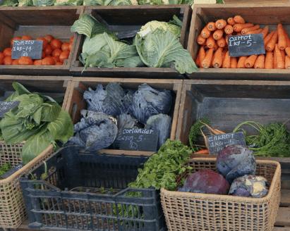 Torba Farmers' Market fresh produce
