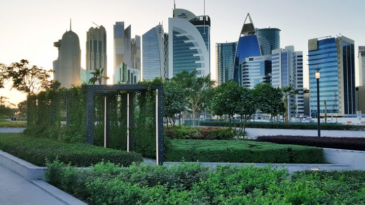 Green space in Doha