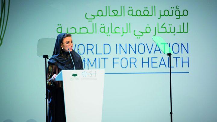 HH Sheikha Moza bint Nasser inaugurates the 2016 World Innovation Summit for Heal