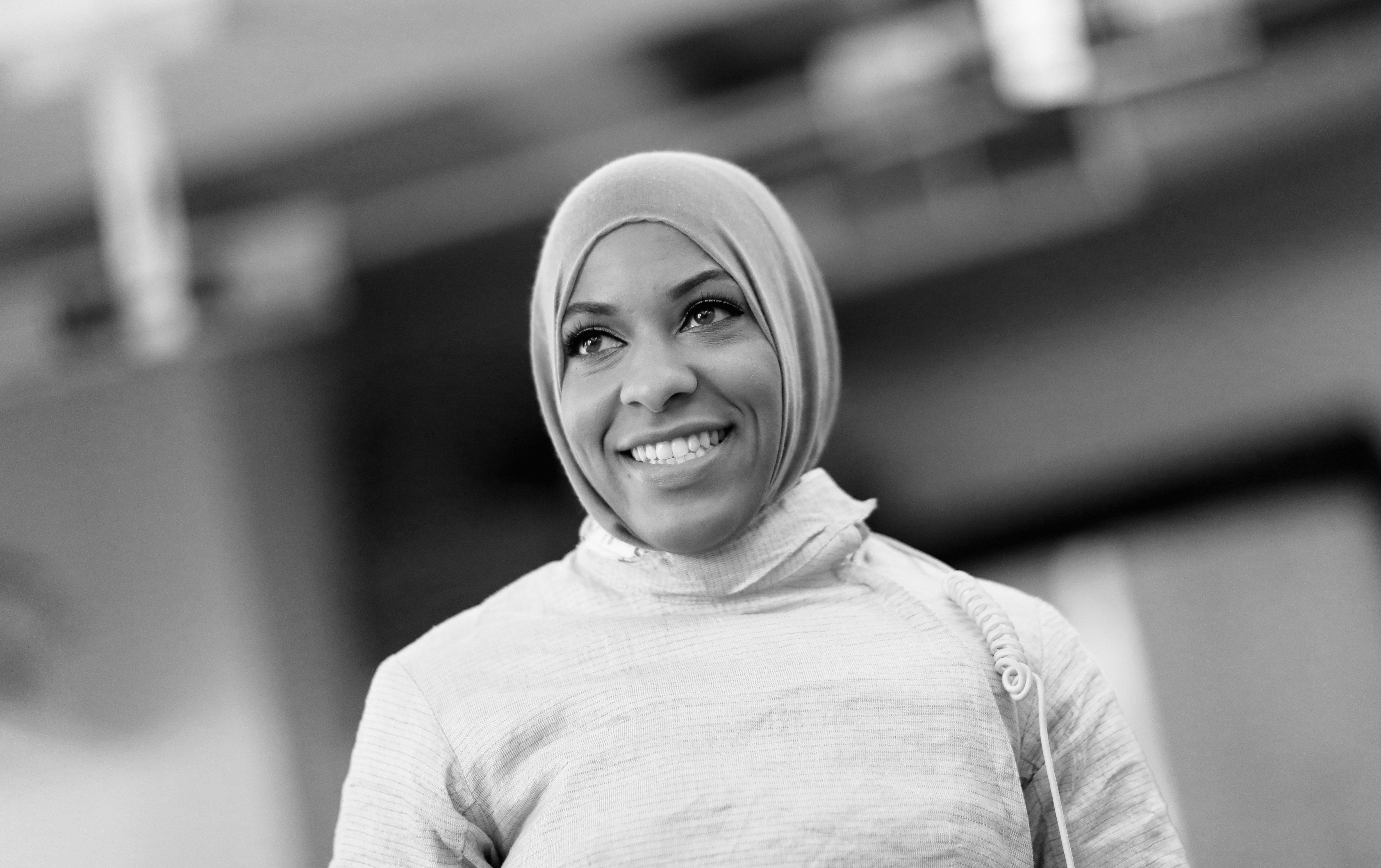 US Fencer Ibtihaj Muhammad